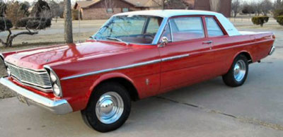 1965 Ford (USA) Custom 500 4-Door Sedan full range specs
