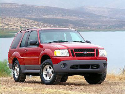 2003 Ford Explorer Sport Interior Parts