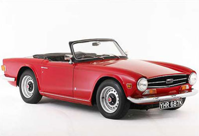 Used Front Bumpers For The Triumph Tr6